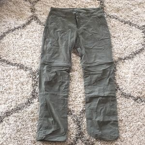 Columbia Hiking Pants Omni Shield Size 8 Short